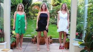 ASMR Try On Summer Holiday Clothes Haul