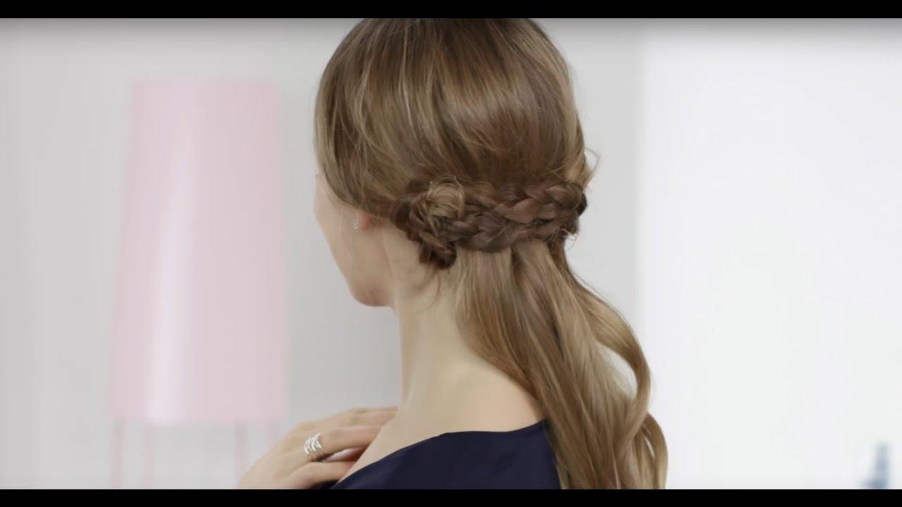 nivea hair tutorial boho braid boho flechtfrisur f r. Black Bedroom Furniture Sets. Home Design Ideas