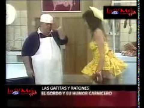 Jorge Porcel y sus gatitas