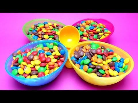 Thumbnail: M&M HIDE & SEEK Surprise Game with Captain America My Litte Pony and Kinder Joy Surprise Egg