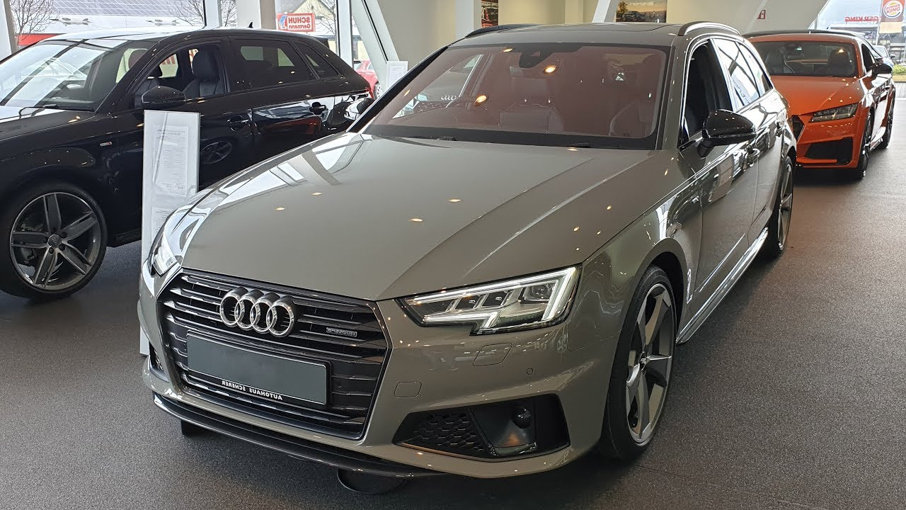 2019 Audi A4 Avant Sport 40 Tdi Quattro S Tronic Youtube
