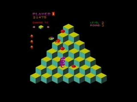 QBert Levels 1-3 - YouTube