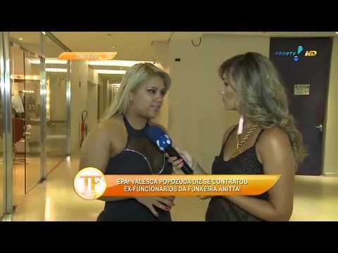 TV Fama 24/03/2014 - Valesca Popozuda Quer 'experiência' Com Mulher