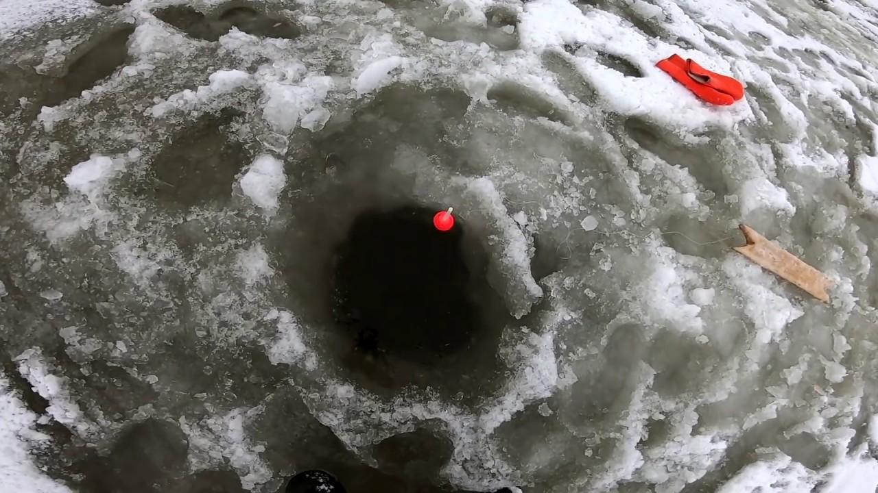 Зимняя рыбалка ХАПУГОЙ в Сибири.