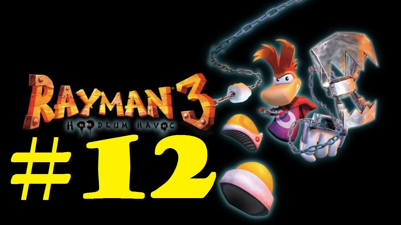 Rayman 3 - Part 12 - The heart of the factory - YouTube