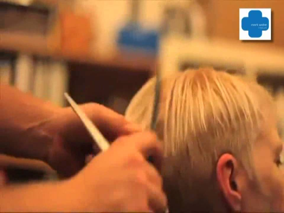Mark Wallat Friseure Der Pixxie Haarschnitt Youtube