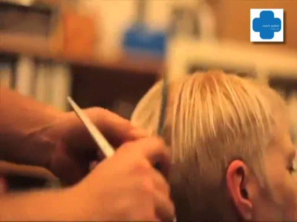 Mark Wallat Friseure  Der Pixxie Haarschnitt  YouTube
