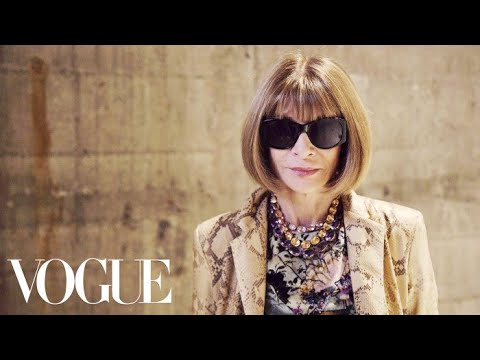 Download Youtube: Anna Wintour Reflects on London's Spring 2018 Collections | Vogue