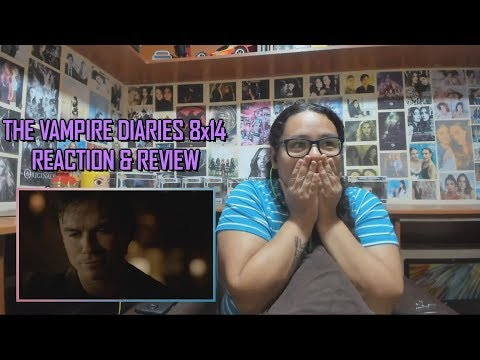 """The Vampire Diaries 8x14 REACTION & REVIEW """"It's Been A Hell Of A Ride"""" S08E14 