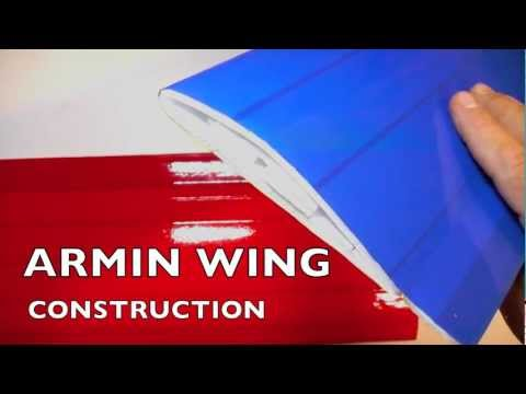 ARMIN WING CONSTRUCTION: start-to-finish process with links to detail videos