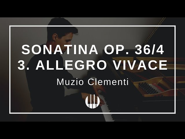 Sonatina Op. 36/4 in F-major - 3. Allegro vivace von Muzio Clementi