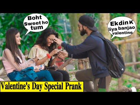 Valentine's Day Special || Be My Valentine For A Day || Best Pranks In India || Baap Of Badmash