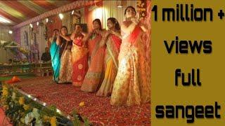 2018 Best ladies sangeet dance performance of rudrapur (complete sangeet) choreography Nasir hussain