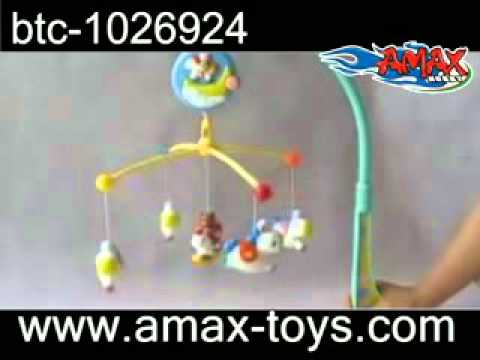 btc 1026924 Hanging music Rotating baby toy with light
