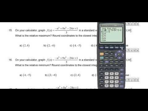 Solved: use a graphing calculator to find the approximate.