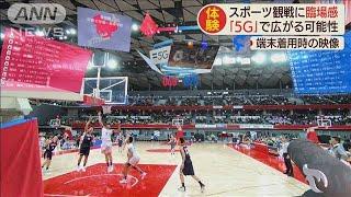 複数の合成映像でスポーツ観戦「5G」で広がる臨場感(19/12/24)