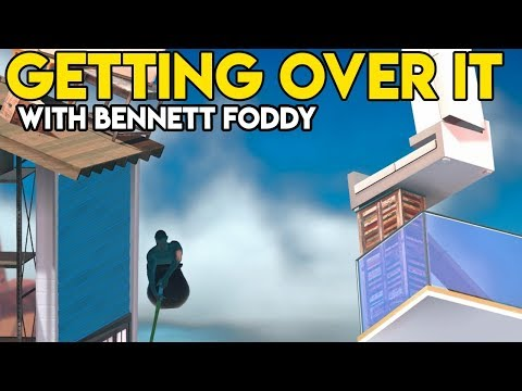BEYOND THE SLIDE | Getting Over It With Bennett Foddy Gameplay / Let's Play #8
