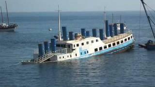 Sinking diving wrecks Xatt l