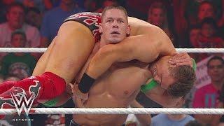 WWE Network: John Cena vs. The Miz: Raw, August 27, 2012