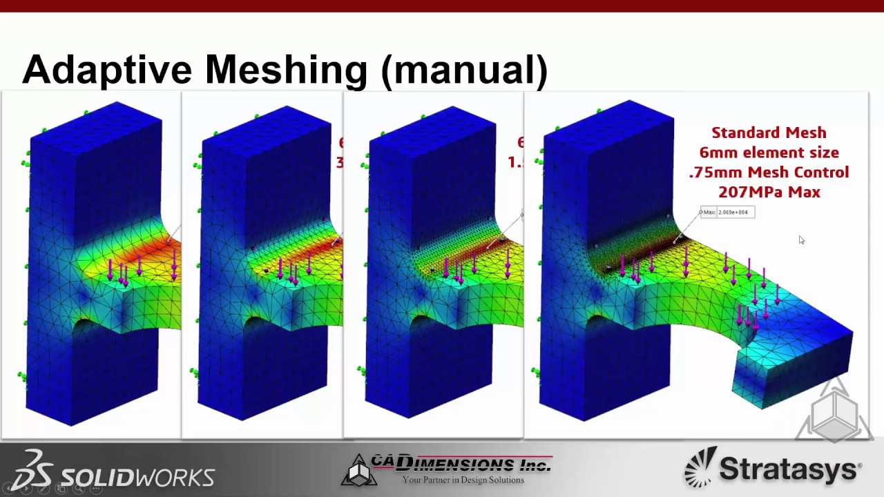 Lunch & Learn - Adaptive Meshing - Make sure your FEA results are correct