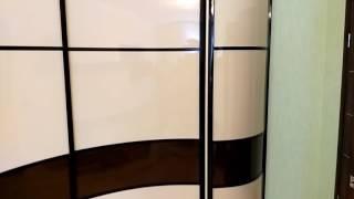 видео Радиусные шкафы-купе