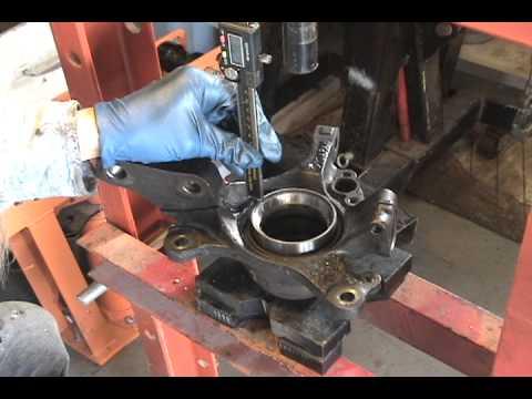 Replace Subaru front wheel bearing