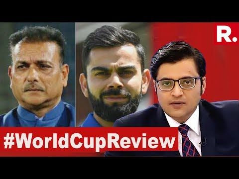 Why Blame Team India For The World Cup Loss? | The Debate With Arnab Goswami