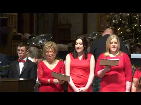 While Shepherds Watched Christmas Their Flocks Carol Community Choir Church Scotland