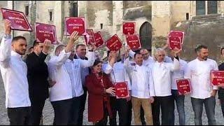Les chefs étoilés de la région ont reçu leur plaque Michelin à Avignon