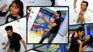 Funny Dance Steps Of Telly Stars At India Forums Party - 2013