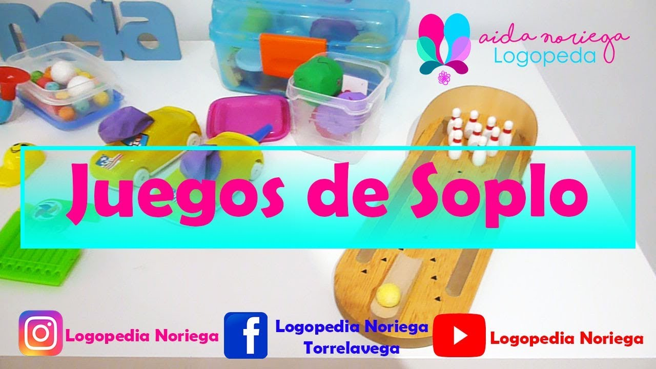 Juegos De Soplo By Logopedia Noriega