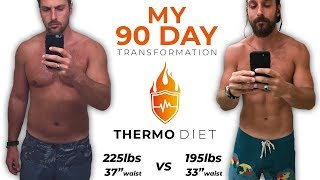How I Lost 30lbs In 12 Weeks without Suffering | Thermo Diet Fitness Transformation