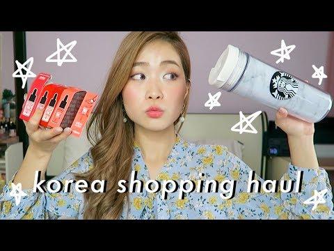 INEXPENSIVE KOREA SHOPPING HAUL: MAKEUP, FASHION, ETC!