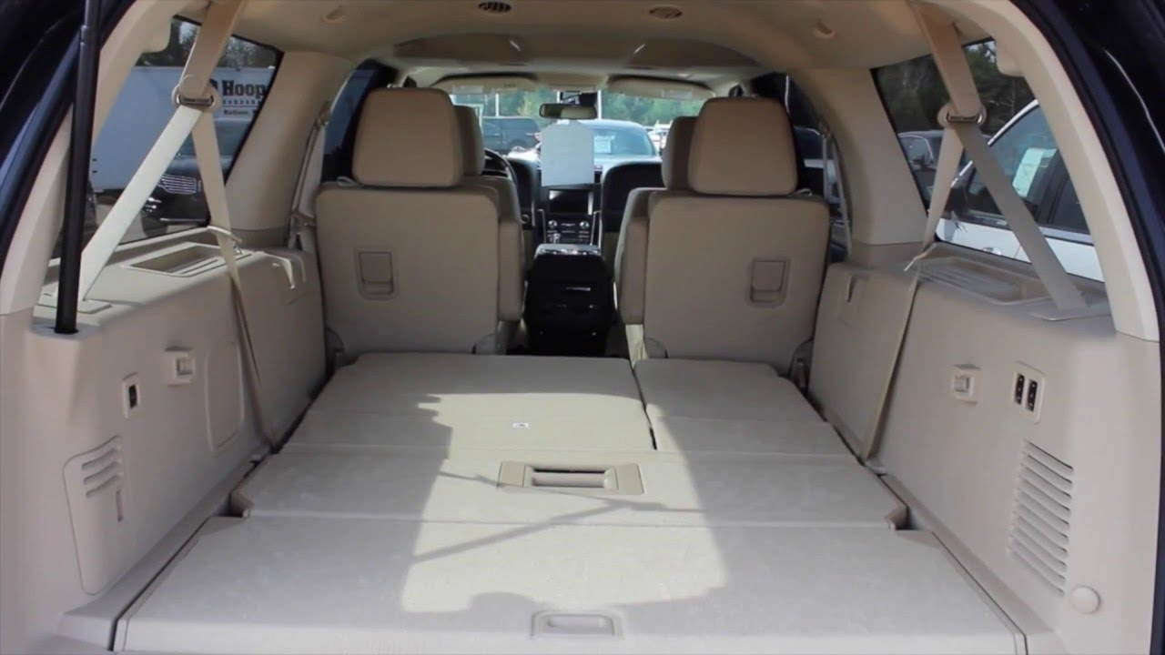 How to Use Power Folding Seats on a 2015 Lincoln Navigator