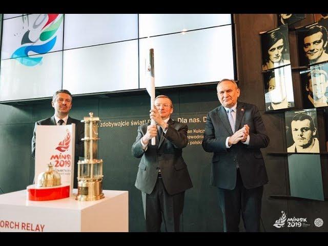 Все ближе к Беларуси. «Пламя мира» встретили в Польше