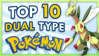 Top 10 New Dual Type Pokemon for Sun and Moon