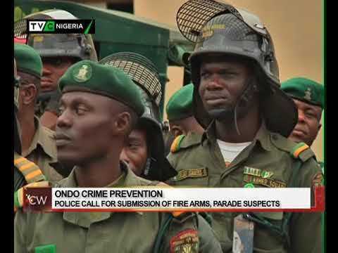 Crime Watch: Ondo Police Command calls for submission of firearms