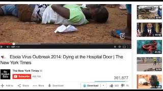 EBOLA 100% FAKE? CNN using CRISIS ACTORS to fake ebola outbreak in Africa!