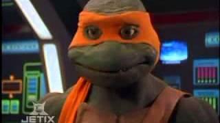Power Rangers In Space - Shell Shocked - Goodbye Ninja Turtles