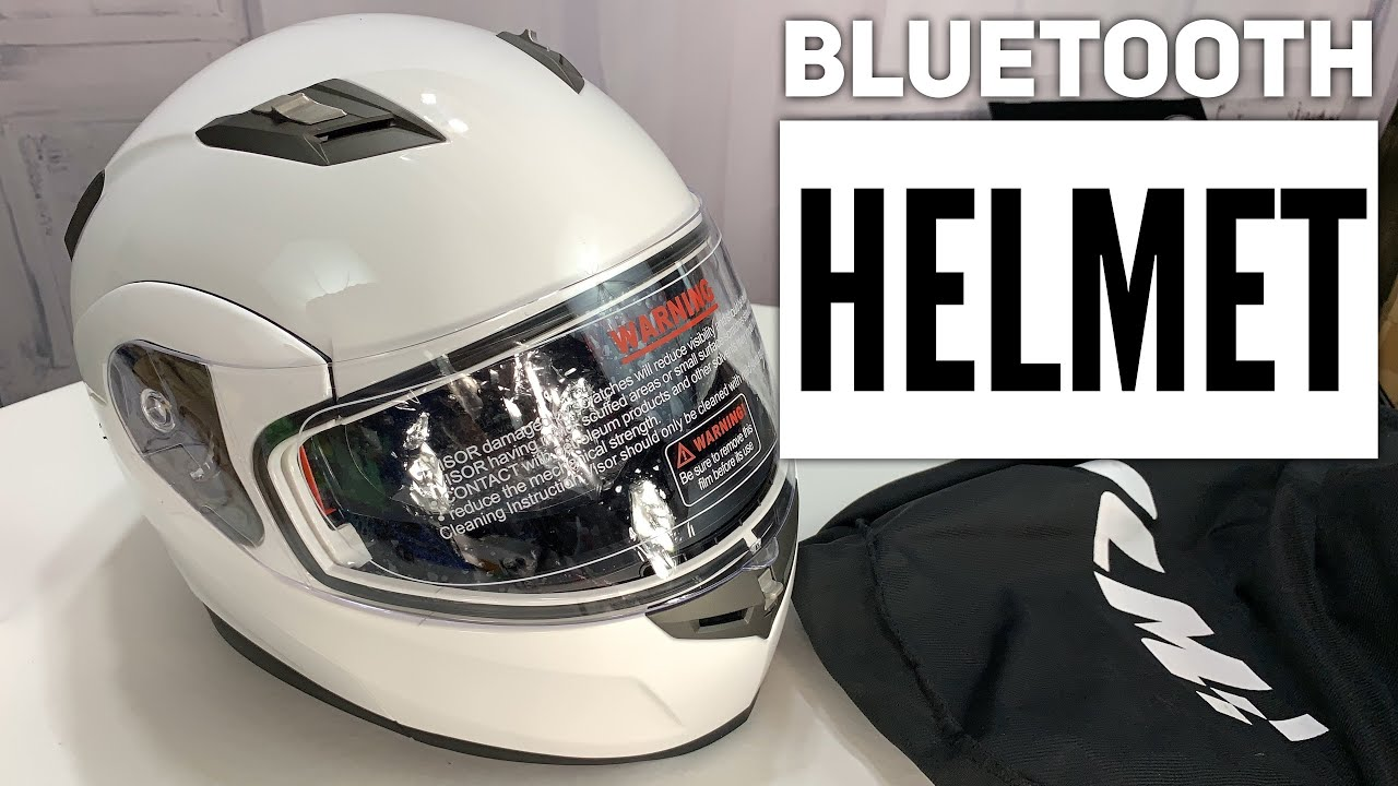 ed8400f0 ILM Bluetooth Flip-up Full Face Motorcycle Helmet Review - YouTube
