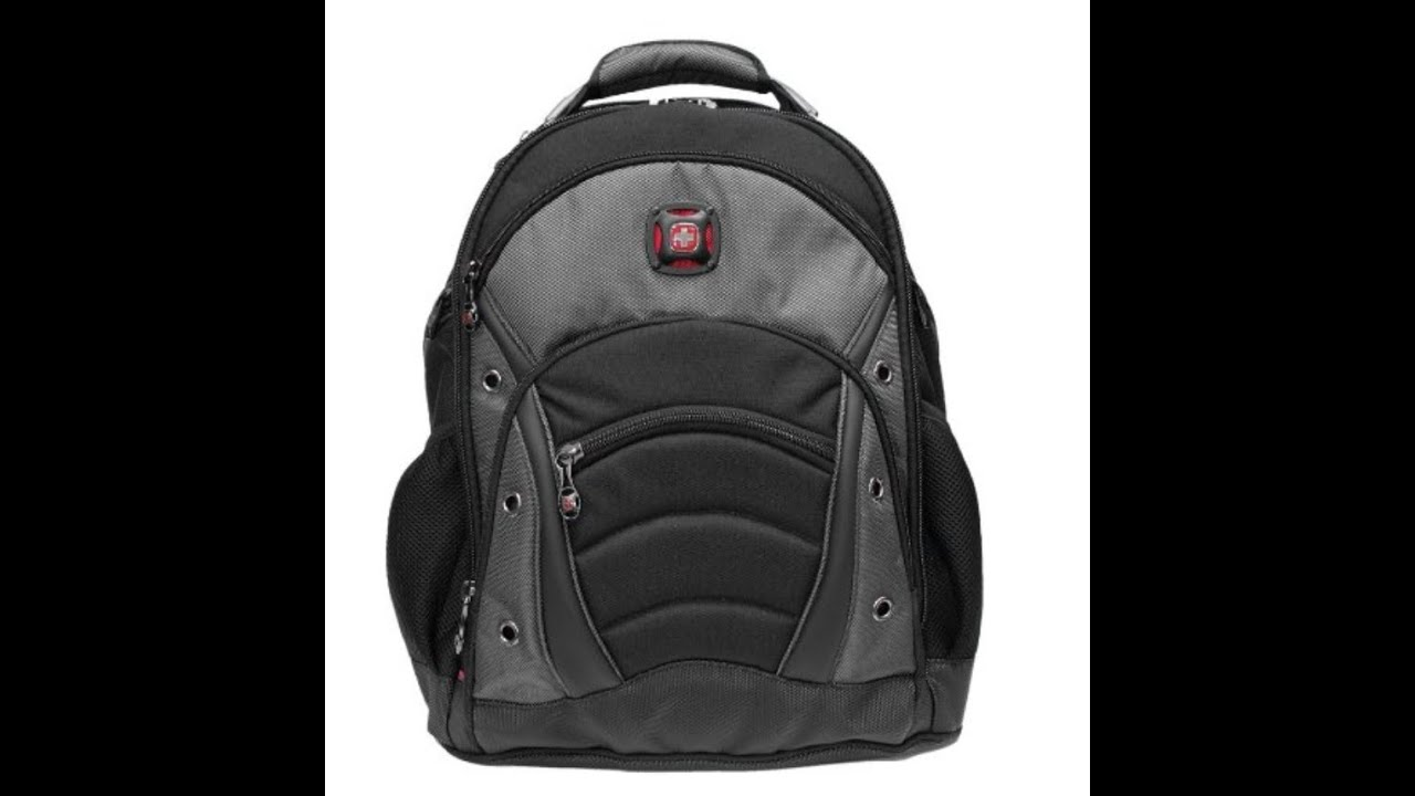 6af10be5bcc2 Swiss Gear Synergy Laptop Backpack Product Review - YouTube