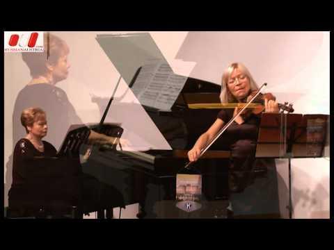 """Music and Lyrics"". Russian Music Salon in Vienna. Hanna Melnyk, Ekaterina Potego, Nina Igudesman"