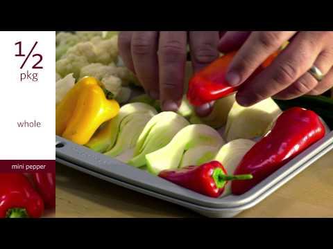 Wegmans Menu in Motion - Vegetable Rustica Platter