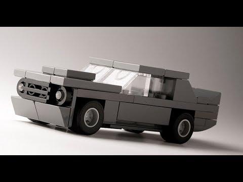 Как построить маленькую машину из самых распространенных  деталей лего / How To Build Lego Car