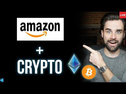 HUGE NEWS: Amazon Launching Cryptocurrency!