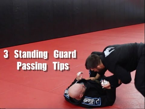 3 Tips For Effective Standing Guard Passing In BJJ