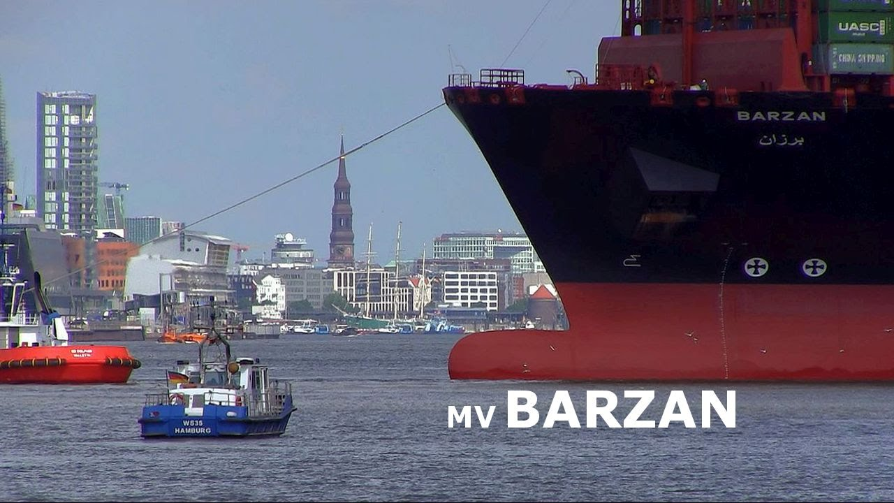 Mv barzan longest container ship of the world first for World s longest video