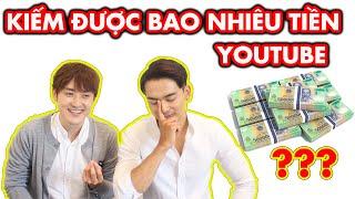 Lần đầu tiết lộ về số tiền kiếm được từ Youtube???    10 Sự thật về kênh Những chàng trai Hàn Quốc