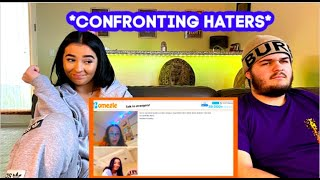 Confronting My Haters On Omegle !!