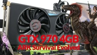 Gameplay GTX 970 4GB no ARK Survival Evolved High e Epic - #SAMFAMILY